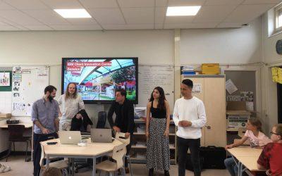 Kom in de klas: de ondernemers op bezoek!